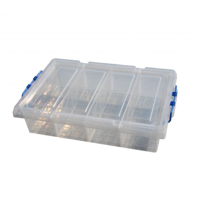 Underbed Storage Box 4 Compartments