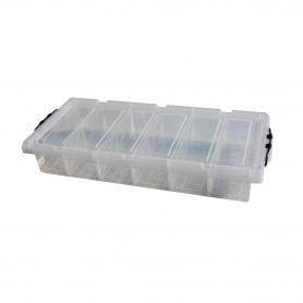 Underbed Storage Box 6 Compartments