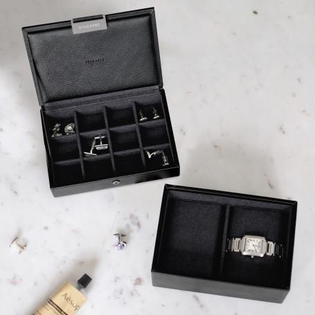 Stackers Mens Mini Watch & Cufflink