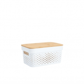 Basket with Bamboo Lid 3.5L