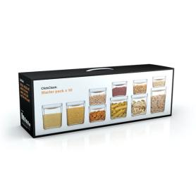 Pantry Storage Cube 10 Piece Set – White