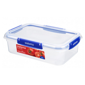 Sistema Klip it+ 2.2L Rectangle Food Storer