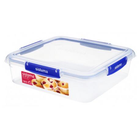 Sistema Klip it+ 3.5L Square Food Storer