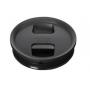 Click Clack 1.6L Black Pantry Food Storer