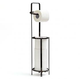 Toilet Roll Holder Black Onyx
