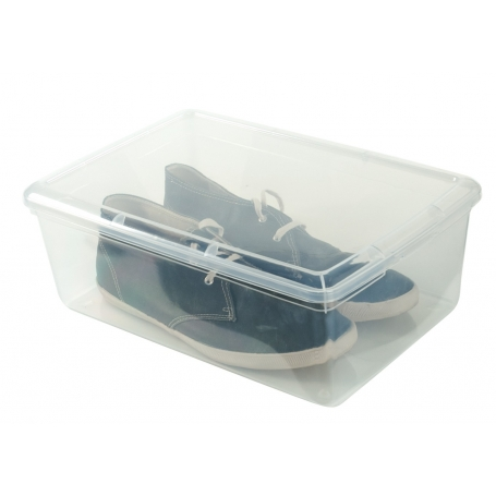 Shoe Box Rigid Lid 26.5x39.5x13cm Mens