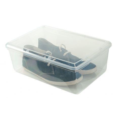 Shoe Box Rigid Lid 26.5x39.5x13cm Mens