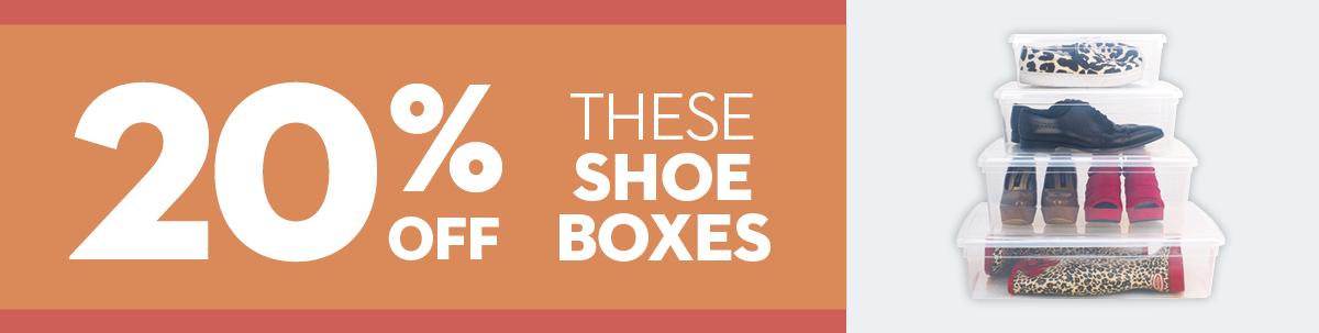September Mailer - Shoe Boxes