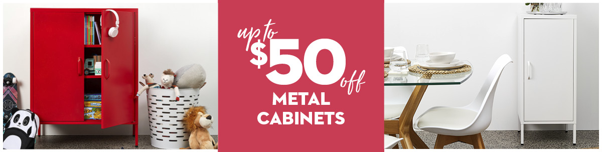 August Mailer - Metal Cabinets